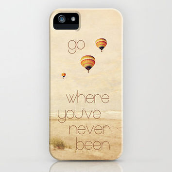 go where you've never been iPhone Case by Sylvia Cook Photography | Society6