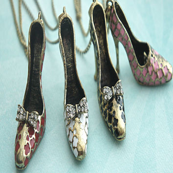 Stiletto Shoe Necklace