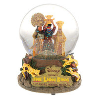 Disney The Lion King: The Broadway Musical Snowglobe | Disney Store