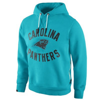 Nike Carolina Panthers Washed Pullover Hoodie - Panther Blue
