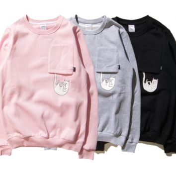 qiyif RIPNDIP 'Falling For Nermal' Sweater