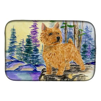 Norwich Terrier Dish Drying Mat SS8011DDM