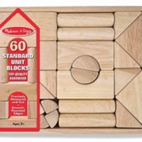 Melissa & Doug 503 Standard Unit Blocks