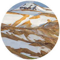 Paul Moore's Kerlingarfjoll, Iceland Circle wall decal