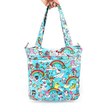 Be Light Tote Bag: Rainbow Dreams