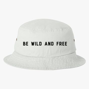Be Wild And Free Bucket Hat