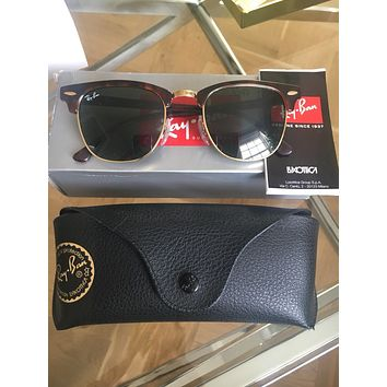 Ray-ban Clubmaster Women's Sunglasses Genuine