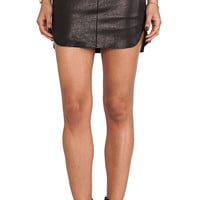Mason by Mason by Michelle Mason Mini Skirt in Black