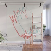 Pastel Creme Wall Mural by spaceandlines