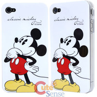 Disney Mickey Mouse Apple i Phone 4G Case -Hard Case at Cutesense.com