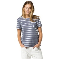 Final Sale- Chambray Stripe Top | Tommy Hilfiger USA