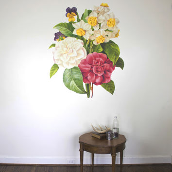 Sophia Flower Illustration Wall Decals