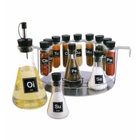 The Kitchen Geek Chemistry Spice Set