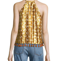 Tory Burch Serena Slouchy Straight-Leg Jeans and Matching Items