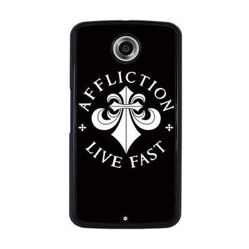 affliction nexus 6 case cover  number 1
