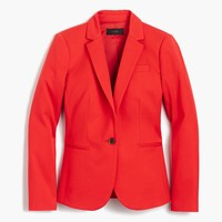 Campbell blazer in bi-stretch cotton : Women suiting blazers | J.Crew