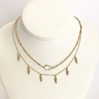 Bombshell Gold Layered Necklace