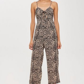 Animal Print Jumpsuit - Swimwear & Beachwear - Clothing