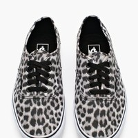 Authentic Sneaker - Snow Leopard