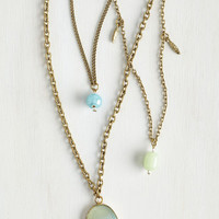 ModCloth Boho Resplendent Pendants Necklace