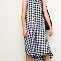 Gingy Flannel Dress
