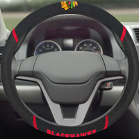 Chicago Blackhawks Steering Wheel Cover