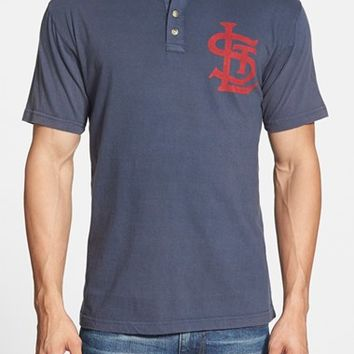 Men's Red Jacket 'St. Louis Cardinals - Luther' Henley,