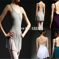 Leotard Skirted Ballet Stage Costume