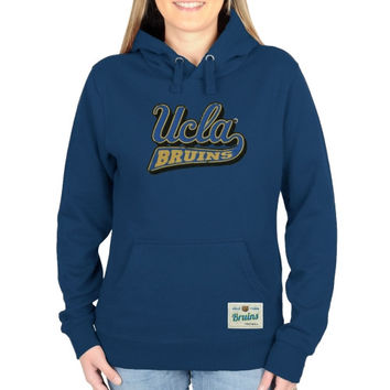 UCLA Bruins Ladies Gameday Mascot Pullover Hoodie - Light Blue