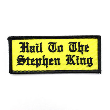 Hail To The Stephen King Patch