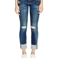 rag & bone/JEAN The Dre Distressed Cropped Jeans in Mabel | Bloomingdales's