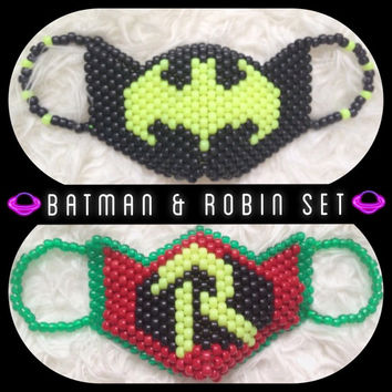 Batman and Robin Kandi Mask Set