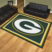 Green Bay Packers 8x10 Rug