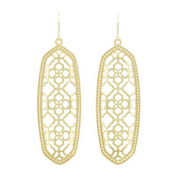 Kendra Scott Brenden Earrings - Gold