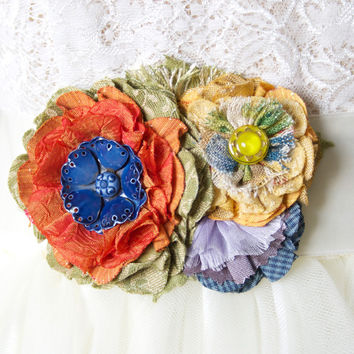 Colorful Bridal Belt