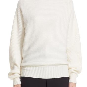 Nordstrom Signature and Caroline Issa Twill Stitch Cashmere Sweater | Nordstrom