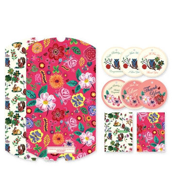 Nathalie Lete Gift Pack Large - Forest & Pink Flower