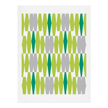 Heather Dutton Abacus Emerald Art Print