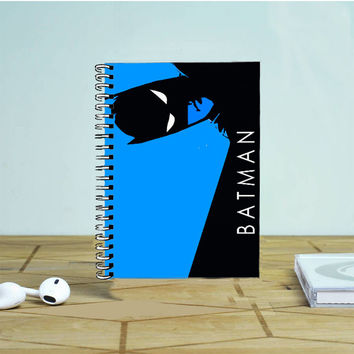 Batman DC Superhero Vector Photo Notebook Auroid
