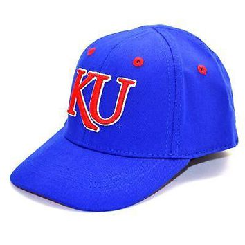 Licensed Kansas Jayhawks Official NCAA Infant One Fit Hat Cap KU by Top Of The World KO_19_1