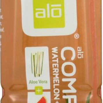 ALO: Comfort Watermelon & Peach, No Preservatives Or Additives Fat Free Drink, 16.9 oz