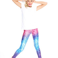 Girls Glitter Mirror Leggings