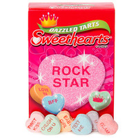 Tart Sweethearts Candy Hearts Packs: 36-Piece Box