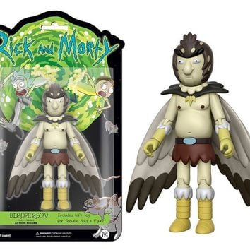"New Authentic BIRDPERSON Rick and Morty 5"" Figure IN STOCK BAF Snowball"