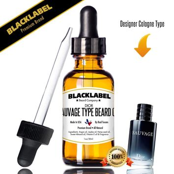 Sauvage by Dior Cologne Type Beard Oil