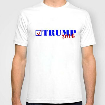 USA Trump T-Shirt USA presidential election Campaign Vote Republican candidate Tops Tees Men Cotton