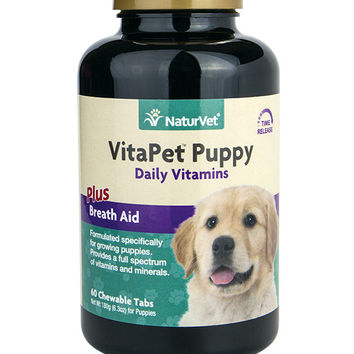 NaturVet VitaPet Daily Vitamins Puppy Tablets 60ct