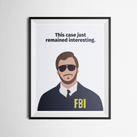 Parks and Recreation Andy Dwyer Bert Macklin Quote Poster Print