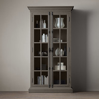 French Casement Glass Cabinet