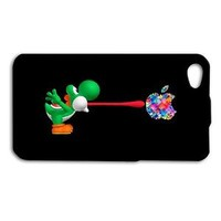 Fun Yoshi Funny Case Cool Phone Cover Cute iPod Cover iPhone Black Video Game